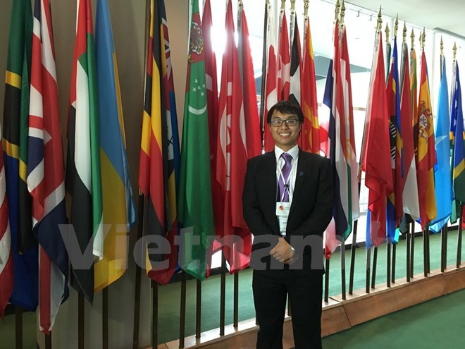 Drei vietnamesische Studenten werden beim internationalen Essay-Wettbewerb ausgezeichnet - ảnh 1
