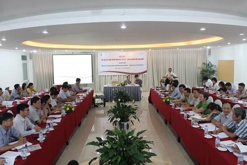 Deutschland tauscht mit Vietnam Erfahrungen bei der Wirtschaftsprüfung der Genossenschaften aus - ảnh 1