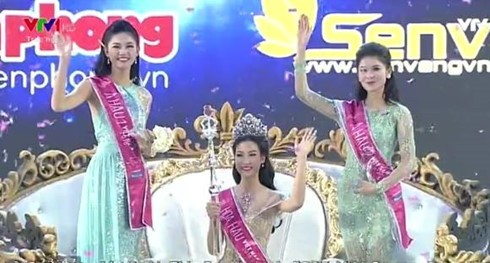 Do My Linh ist Miss Vietnam 2016 - ảnh 1