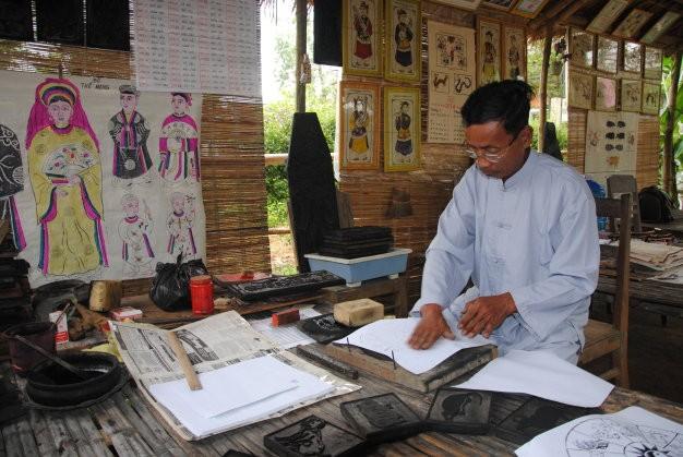 Einzigartigkeit der Bilder des Dorfes Sinh - ảnh 1