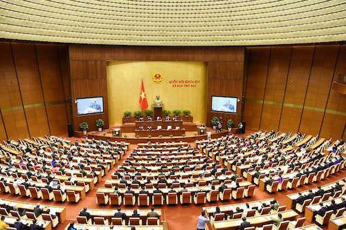 Parlament diskutiert Maßnahmen zur Förderung der Wirtschaftsrestrukturierung - ảnh 1