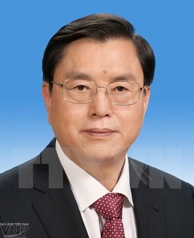 Parlamentspräsidentin Nguyen Thi Kim Ngan empfängt Spitzenpolitiker aus China - ảnh 1