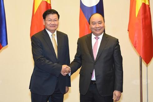 Vietnam und Laos wollen Beziehungen vertiefen - ảnh 1