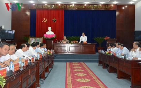 KPV-Generalsekretär Nguyen Phu Trong besucht Bac Lieu - ảnh 1
