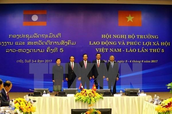 Вьетнам и Лаос активизируют сотрудничество в сфере труда и социального обеспечения - ảnh 1