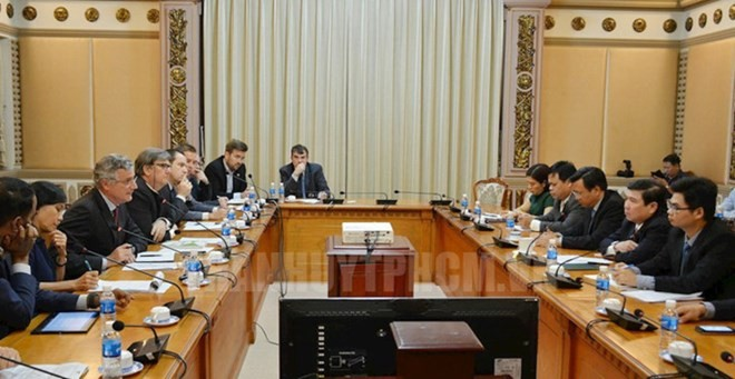 Ho Chi Minh Stadt fördert Zusammenarbeit mit Verband der europäischen Unternehmen - ảnh 1