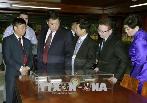 Parlamentspräsident der Mongolei beendet Vietnambesuch - ảnh 1