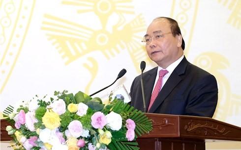 Premierminister: Beratung im Sinne der gemeinsamen Interessen, gegen Korruption - ảnh 1