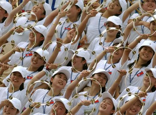 Nordkoreanische Sportanhänger in Südkorea angekommen - ảnh 1