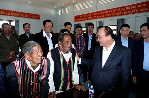 Premierminister Nguyen Xuan Phuc besucht DakNong - ảnh 1