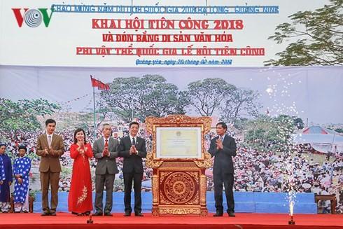 Umzug der Menschen in Quang Ninh ist immaterielles Erbe Vietnams - ảnh 1