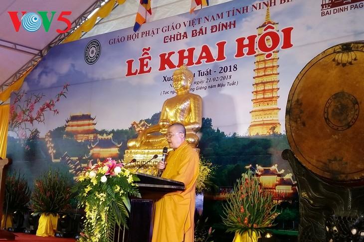 Vietnamesischer Buddhistenverband organisiert Frühlingsfest - ảnh 1