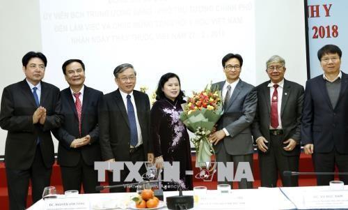 Vizepremierminister Vu Duc Dam besucht das Rote Kreuz Vietnam - ảnh 1