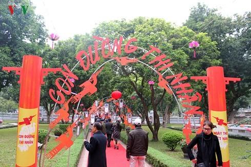 Neues zum Tag der vietnamesischen Gedichte - ảnh 1