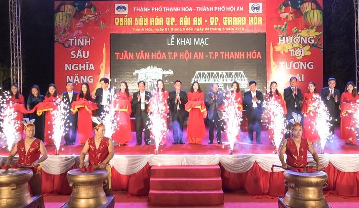 Eröffnung der Kulturwoche in Hoi An und Thanh Hoa - ảnh 1