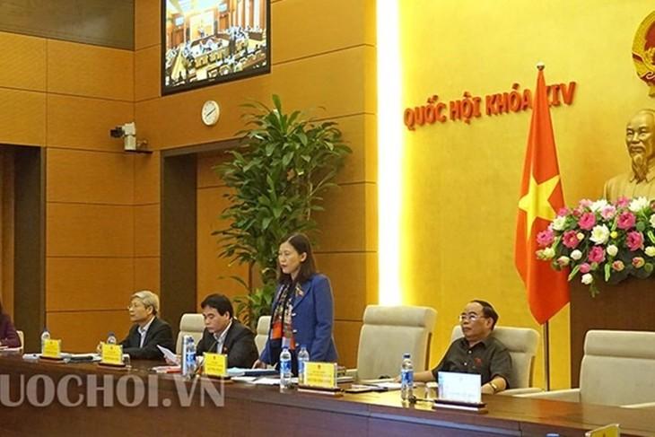 Vollversammlung des Justizausschusses des Parlaments - ảnh 1