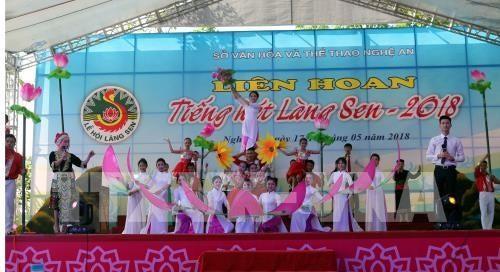 Viele Aktivitäten zum 128. Geburtstag von Präsident Ho Chi Minh - ảnh 1