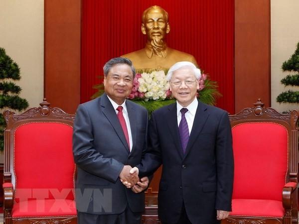 Besondere Freundschaft zwischen Vietnam und Laos vertiefen - ảnh 1