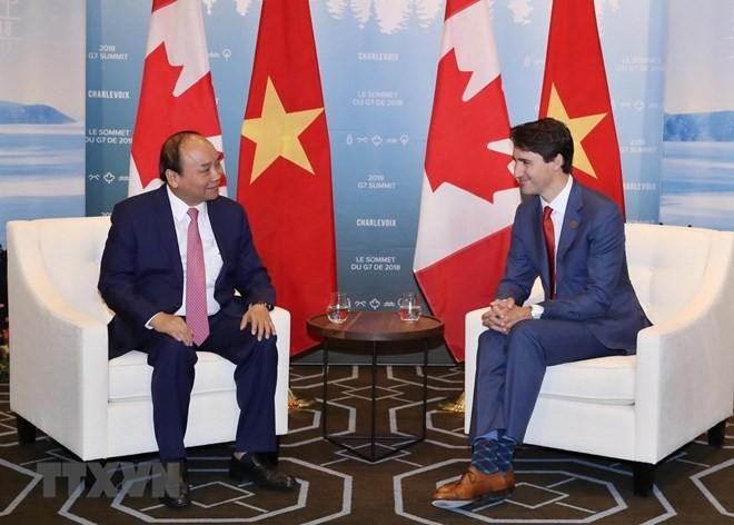 Premierminister Nguyen Xuan Phuc beendet Kanada-Besuch - ảnh 1
