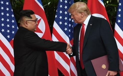 Gemeinsame Erklärung  der USA und Nordkoreas über neue bilaterale Beziehungen - ảnh 1