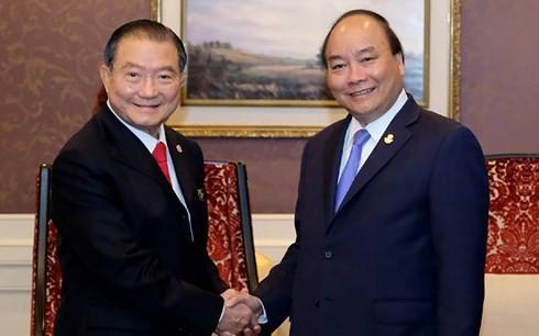 Premierminister Nguyen Xuan Phuc nimmt an ACMECS-Konferenz teil - ảnh 1