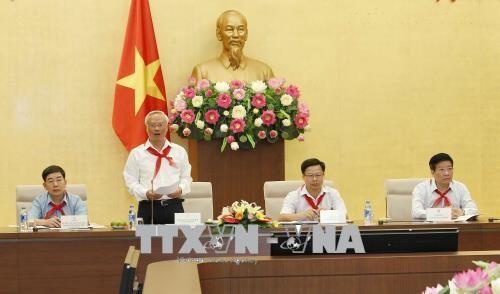 Vizeparlamentspräsident Uong Chu Luu trifft Leiter der jungen Pioniere der Provinz Bac Kan - ảnh 1