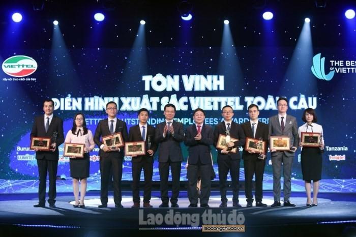 Ehrung des Viettel-Unternehmens für globale Auszeichnung - ảnh 1
