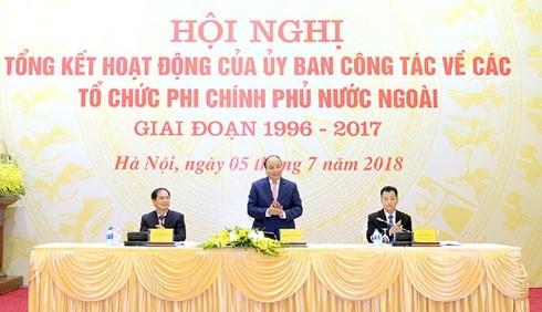 Vietnam unterstützt Aktivitäte der ausländischen Nichtregierungsorganisationen - ảnh 1