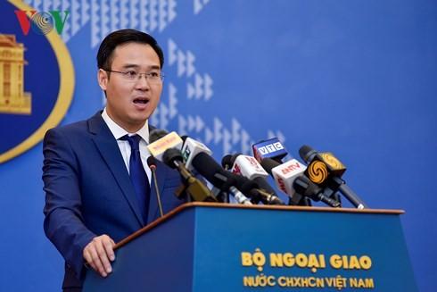 Außenministerium über Verletzung vietnamesischer Souveränität durch Facebooks Landkarte - ảnh 1