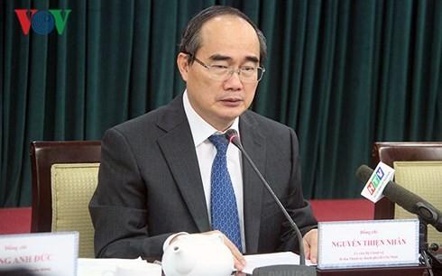 Abschluss der Konferenz der Partei-Führung in Ho Chi Minh Stadt - ảnh 1