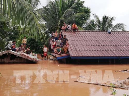 Keine vietnamesischen Opfer beim Dammbruch in Laos - ảnh 1