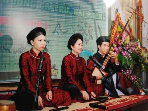 Haiphong bewahrt und entfaltet Werte des Tru-Gesangs - ảnh 1