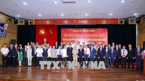 Aktivität der Partei im Ausland zum Aufbau und Schutz des Landes - ảnh 1
