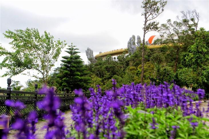 Cau Vang (Goldene Brücke) – Ein Bauwunder in Ba Na Hills - ảnh 10