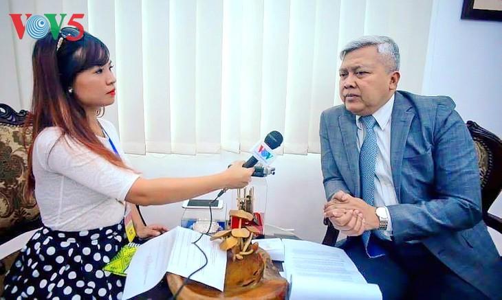 Der Vietnambesuch des indonesischen Präsidenten soll strategische Partnerschaft vertiefen - ảnh 1