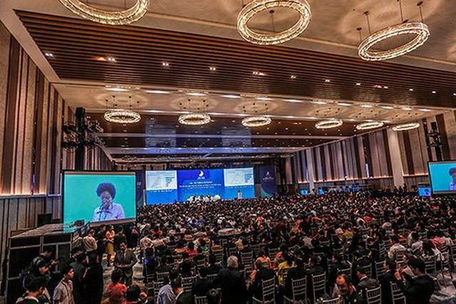 Gipfelkonferenz des Handels in Vietnam - ảnh 1