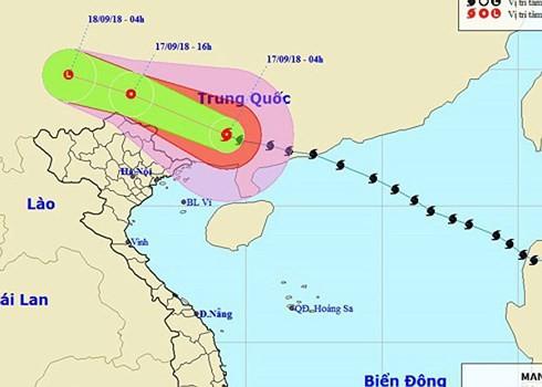 Nordvietnamesische Provinzen sollen sich auf Folgen des Taifuns Mangkhut vorbereiten - ảnh 1