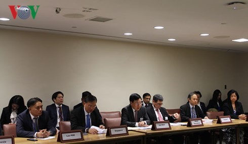Außenministerkonferenz der ASEAN und des Golfkooperationsrates (GCC) - ảnh 1