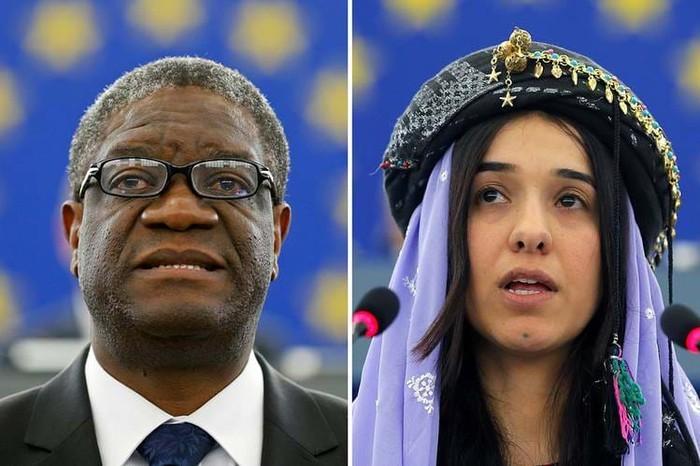 Friedensnobelpreis 2018 für Bemühungen gegen sexuelle Gewalt im Krieg - ảnh 1