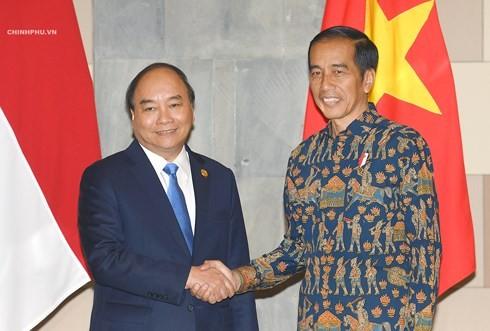 Vietnam und Indonesien wollen Durchbruch in bilateralen Beziehungen - ảnh 1