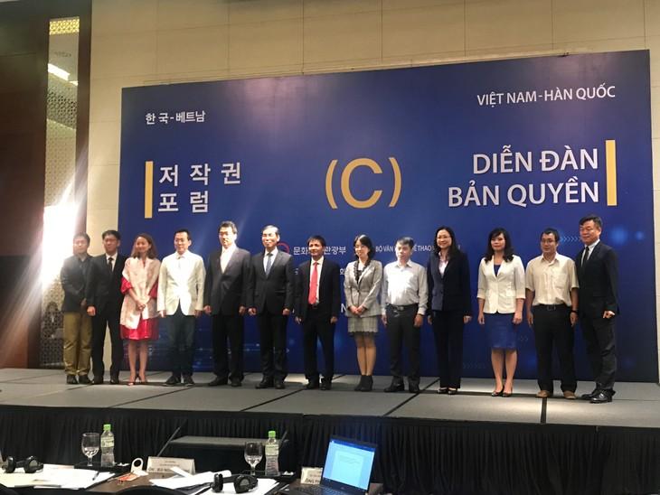 Vietnam und Südkorea suchen nach Lösung zur Verwaltung von Urheberrecht in digitalen Zeiten - ảnh 1