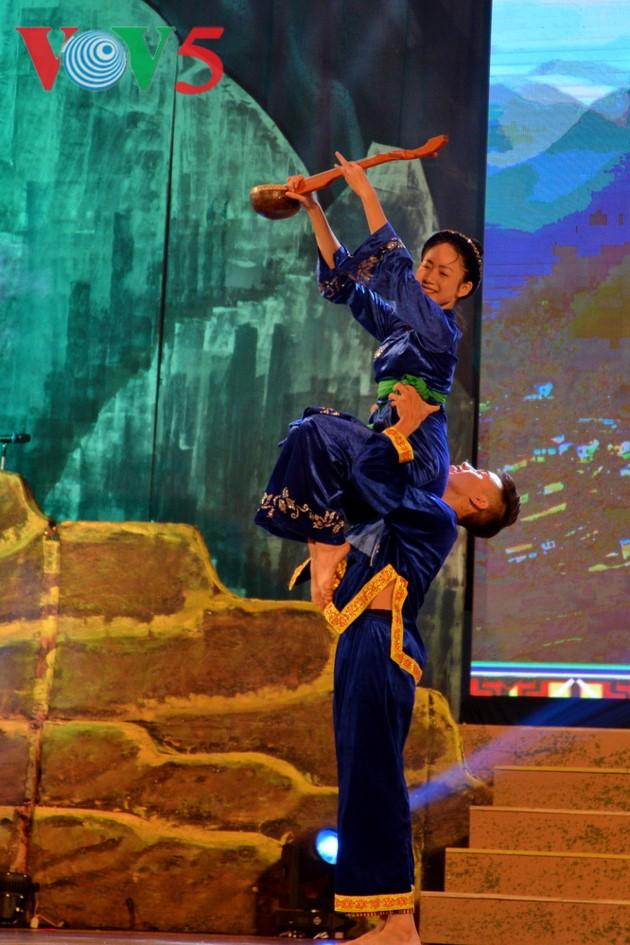 Eröffnung des Festivals der Kultur, des Sports und des Tourismus der verschiedenen Volksgruppen im Nordosten Vietnams - ảnh 15