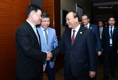 Premierminister Nguyen Xuan Phuc nimmt an Einweihung des Büros für Handel in Hangzhou - ảnh 1