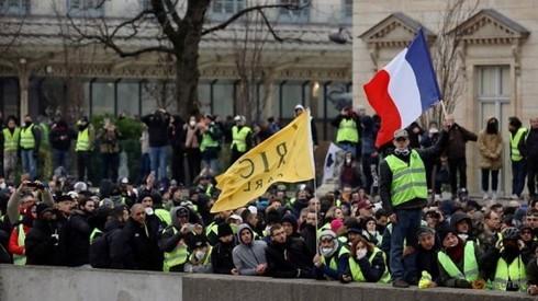 Frankreich: Gelbwesten demonstrieren wieder - ảnh 1