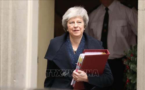 Brexit: Britische Premierministerin Theresa May trifft EC-Präsident - ảnh 1