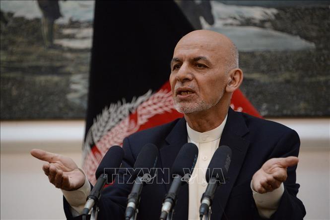 Afghanistans Präsident ruft Abgeordnete des Landes zu Verhandlungen mit Taliban auf - ảnh 1
