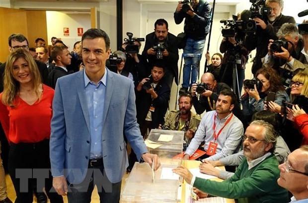 Vorläufige Ergebnisse von vorgezogenen Wahlen in Spanien - ảnh 1