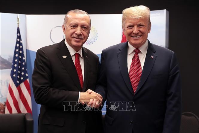 USA und Türkei haben sich bei einer Vereinbarung über  eine Sicherheitszone in Syrien angenähert  - ảnh 1