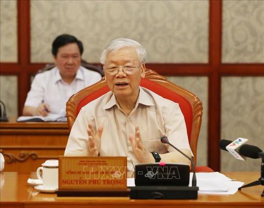 KPV-Generalsekretär, Staatspräsident  Nguyen PhuTrong  leitet Sitzung des Politbüros - ảnh 1