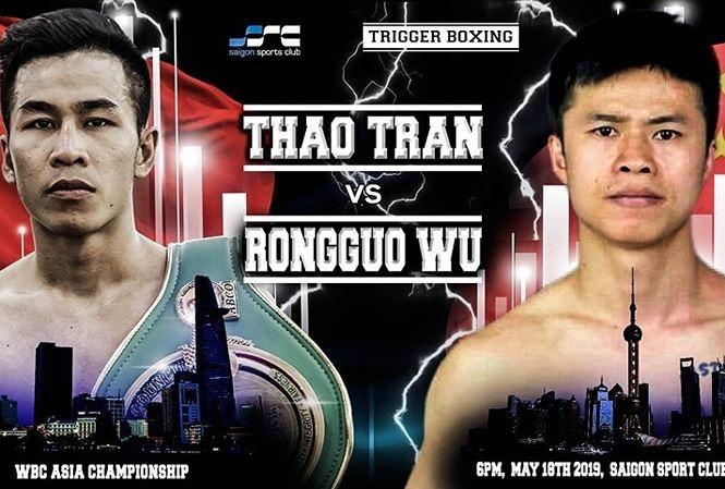 Vietnamesischer Boxer schlägt chinesischen Boxer KO - ảnh 1